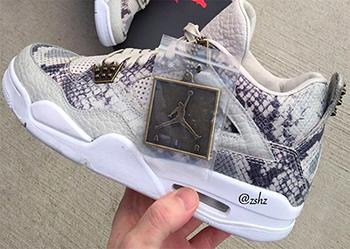 Air Jordan 4 Premium Snakeskin