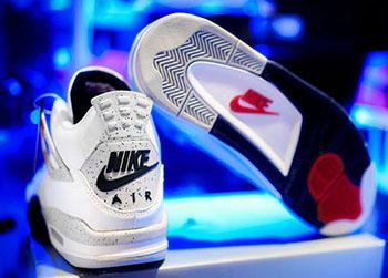 Air Jordan 4 Retro 89 White Cement