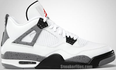 Air Jordan 4 White Cement Release Date