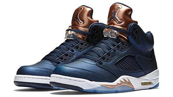 Air Jordan 5 Bronze Obsidian