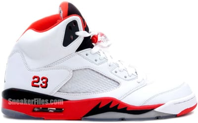 Air Jordan 5 Fire Red Black Tongue Release Date 2013
