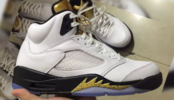 Air Jordan 5 Gold Tongue Olympic