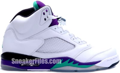 Air Jordan 5 Grape May 2013 Release Date