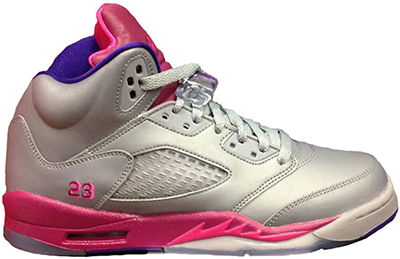 Air Jordan 5 GS Pink Foil Release Date 2013