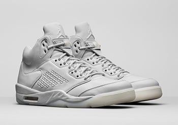 Air Jordan 5 Premium Pure Platinum