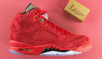 Air Jordan 5 Red Suede 2017 Release Date