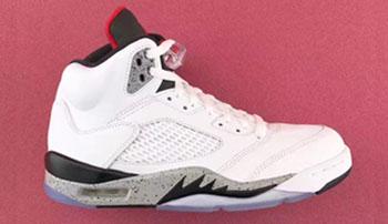 Air Jordan 5 White Cement Release Date