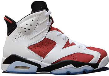 Air Jordan 6 Carmine Release Date