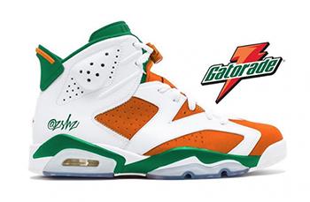 Air Jordan 6 Gatorade Release Date