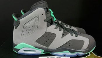 Air Jordan 6 Green Glow Cement