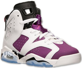 huge discount 500f2 e62dc Air Jordan 6 GS Bright Grape