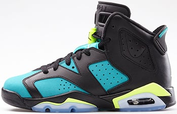 Air Jordan 6 GS Turbo Green