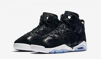 Air Jordan 6 Heiress Black Suede Release Date