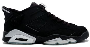 Air Jordan 6 Low Black Chrome 2015 Release Date