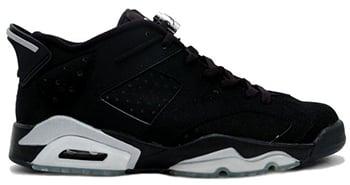 Air Jordan 6 Low Black Chrome 2015 Release Date