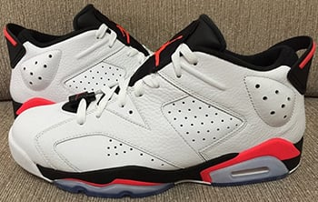 Air Jordan 6 Low Infrared 2015 Release Date
