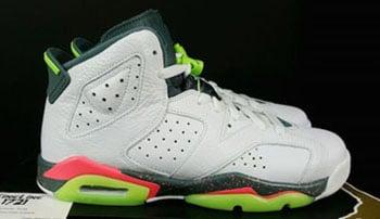 Air Jordan 6 Mango White Ghost Green