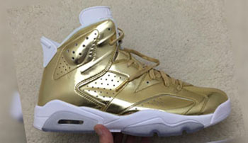 Air Jordan 6 Pinnacle Gold
