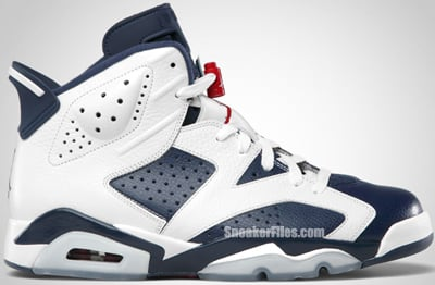 Air Jordan 6 Retro Olympic 2012 Release Date