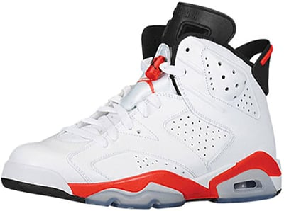 Air Jordan 6 White Infrared Release Date 2014