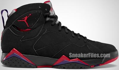 Air Jordan 7 Charcoal Raptor 2012 Release Date