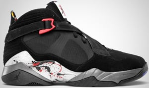 Air Jordan 8.0 Black Red Grey White Release Date