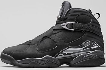 Air Jordan 8 Black Chrome 2015 Release Date