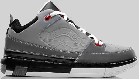 Mens Air Jordan OL School IV Black Grey shoes