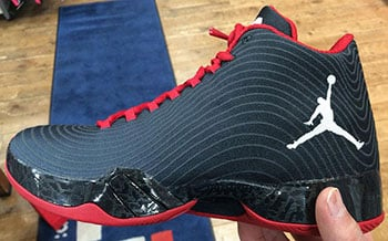 Air Jordan XX9 Black White Dark Grey Gym Red Release Date