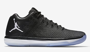 Air Jordan XXX1 Low Black White