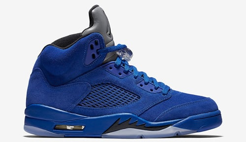 Blue Suede Air Jordan 5