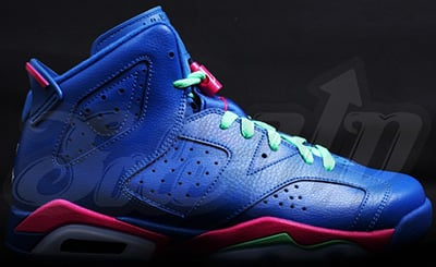 Girls Air Jordan 6 Game Royal Vivid Pink Release Date 2014