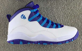 Hornets Air Jordan 10 City Pack