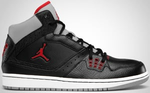 Jordan 1 Flight Black Red Cement Grey White Release Date