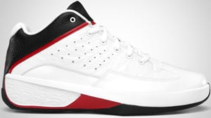 Jordan 2Smooth White Black Red Release Date