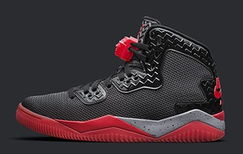 Jordan Air Spike Forty Black Fire Red Release Date