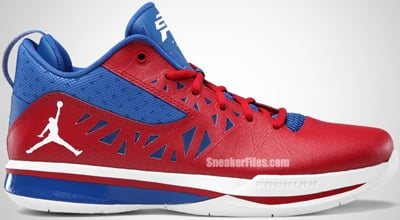Jordan CP3.V Playoff Red White Blue Release Date 7401e9235