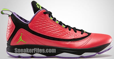Jordan CP3.VI AE Crimson Green Violet May 2013 Release Date