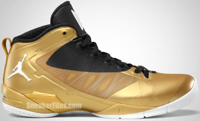 Jordan Fly Wade 2 EV Metallic Gold Coin Black White Release Date 2012