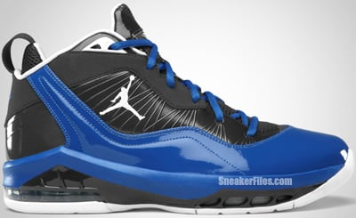Jordan Melo M8 Playoff Anthracite White Royal Release Date