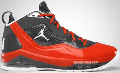 Jordan Melo M8 Playoff Anthracite White Team Orange Release Date
