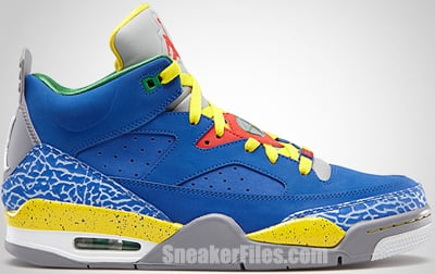 Jordan Son of Low Royal Yellow Cement Green June 2013 Release Date