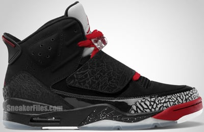 Jordan Son of Mars Black Varsity Red Cement Grey White Release Date 2012