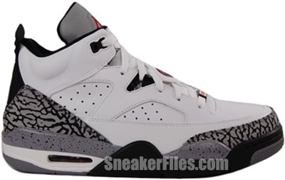 Jordan Son of Mars Low White Cement Release Date 2013