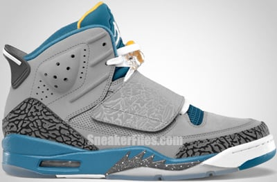 Jordan Son of Mars Stealth White Blue University Gold 2012 Release Date
