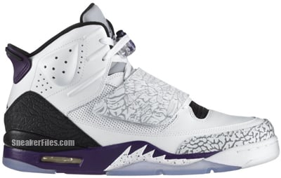 Jordan Son of Mars White Club Purple Grey Release Date 2012