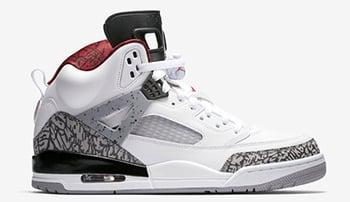 Jordan Spizike White Cement