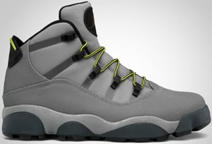 Jordan Winterized 6 Rings Charcoal Voltage Grey Blue Release Date