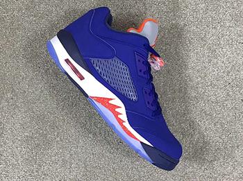 Air Jordan 5 Low Knicks Release