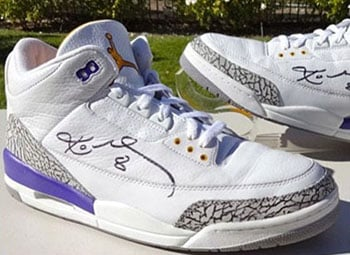 Kobe Air Jordan 3 Lakers